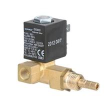 Micro diesel fuel and gas solenoid valve