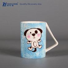 450ml High Quality Dog Painting Fine Bone China Animal Gift Christmas Ceramic Coffee Mug