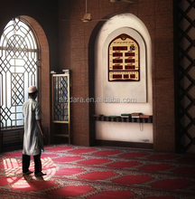 Islamic Wall Mounted Prayer Digital Wall Clock Control the Door Open and Close