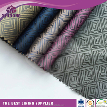 polyester jacquard farbic wholesale for garment lining/Jacquard lining fabric for suiting