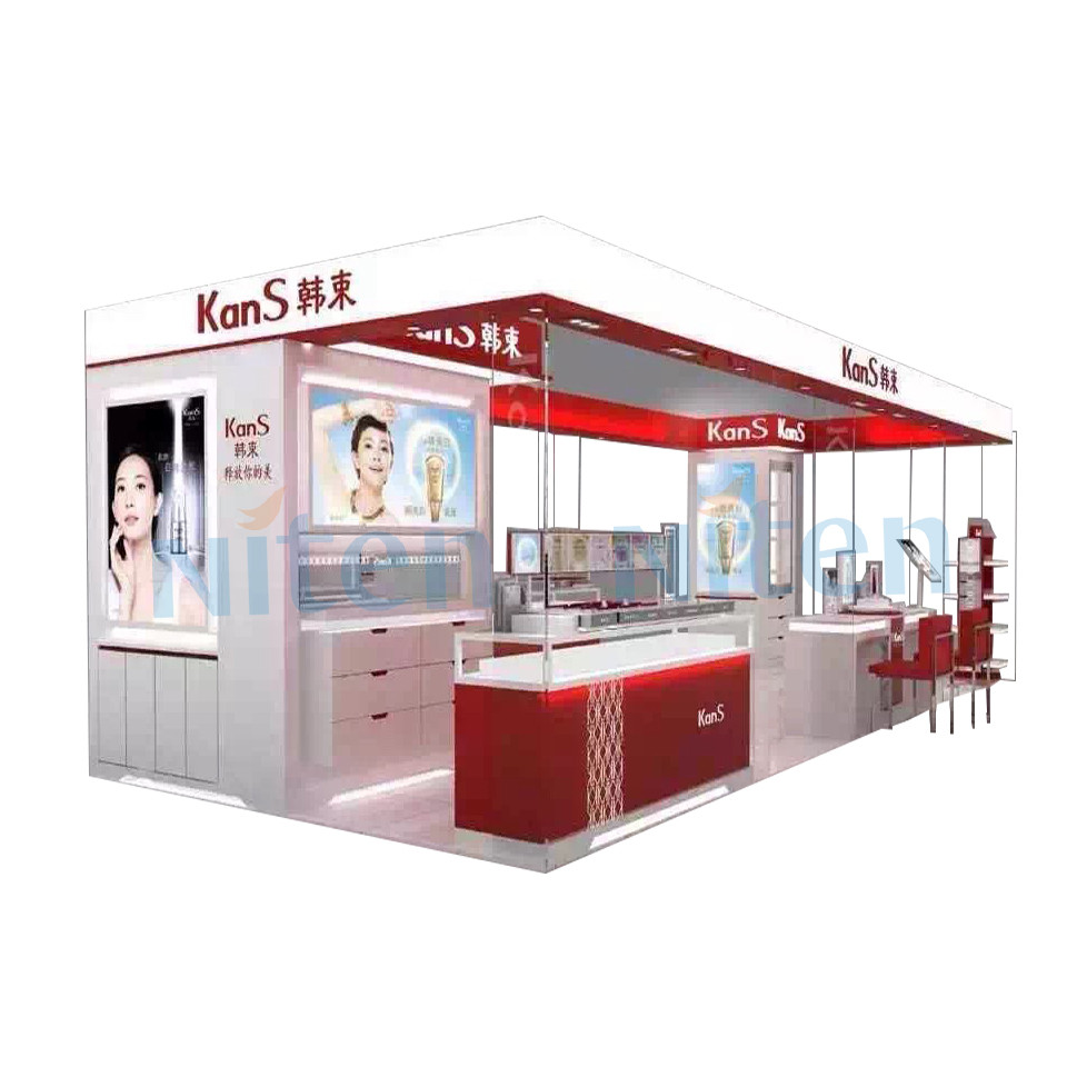 Exhibition Stand Kiosk : Exhibition display wooden jewelry exhibitors kiosk