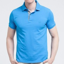 blue golf shirt dry fit