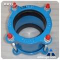 tubo de acero rápido reductor flexible de reparación de acoplamiento con brida para tubo de pvc