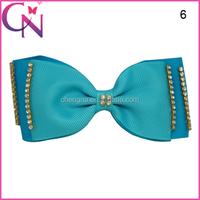 Fashion Gaga Hair Bow With Rhinestone CNHBW-141104014-1W