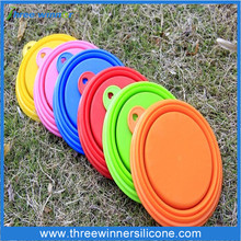 Dog Feeding Bowl Silicone Dog Pet Bowl Collapsible Dog Water Bowl
