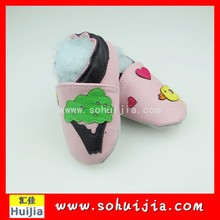 Factory supplier supermarket pink and yellow bird moccasins embroidered baby products of all types with kid shoes