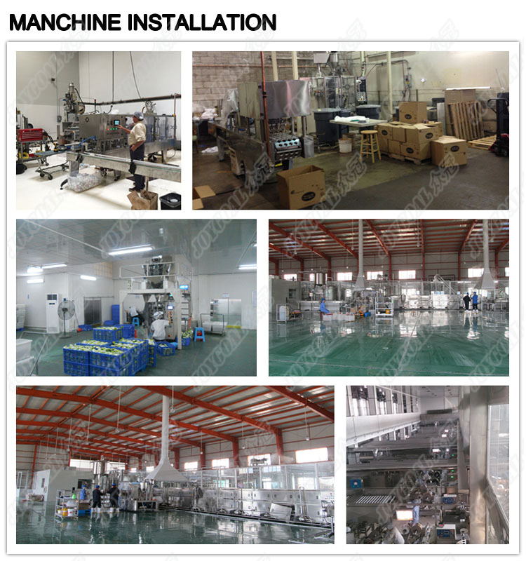 machine installation