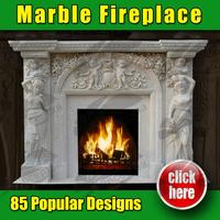 Handmade Modern natural stone fireplace surround Antique Designs