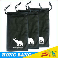 HBD815 custom eyeglasses cleaning drawstring bag