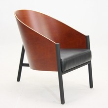 high quality replica costes chair wooden leisure armchair designed by PHILIPPE STARCK