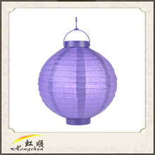 """14"""" Lavender Halloween Decoration Paper Ball For Decor Your Christmas Wedding Party"""