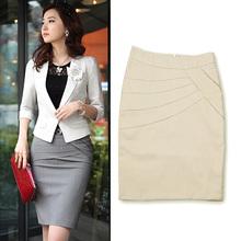 diseñador de la mujer de primavera- otoño un- línea apretada cadera y la rodilla- longitud de faldas, formal de trabajo 6662