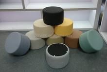2015 fabric round Ottoman Stool Footstool pouf ottoman