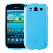 Various Mixed Colour Mercury Goospery Glitter custom mobile phone jelly case cover for SANSUNG GALAXY S3 I9300