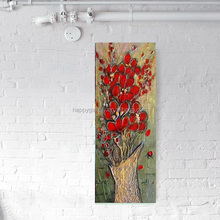 Wholesale Handmade Oil Painting Pictures Of Flowers On Canvas