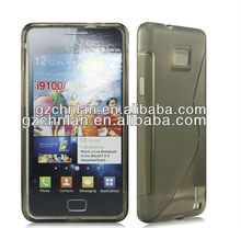 S Line TPU Rubber Case Cover Skin for Samsung Galaxy S2