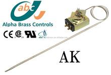 kitchen gas food range apparatus thermostat heating control valve