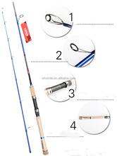 High quality new product fly fishing rod with fuji reelseat 602MH
