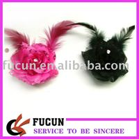 wedding flower brooches with feather