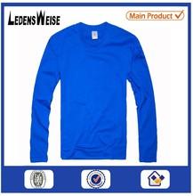 Customized high-quality cozy long-sleeve blue shirt