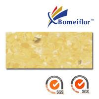 Bomeiflor Non-directional Homogeneous 2mm thickness pvc flooring