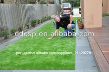 grama artificial para o jardim e varanda e do telhado