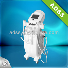Safe and fast results vacuum shaping RF skin tightening machine