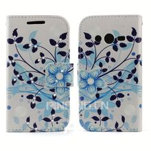 Elegant colorful print Diamond Leather for General Mobile Discovery 2 Mini Flip Cover with Stand Case