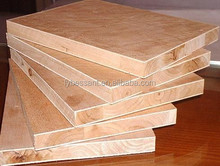 plain/veneer/melamine block board E0 E1 E2 glue CE CARB FSC certification for furniture and decoration