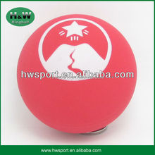 hollow rubber ball with customized logo