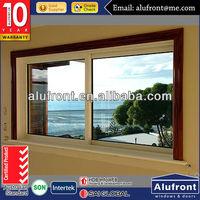 Australian Standard Aluminum Glass Sliding Window