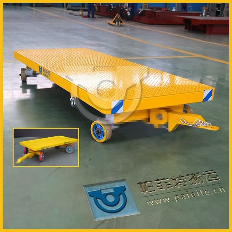 Industrial Cart, Quad Steer-Light Duty Industrial Cart By