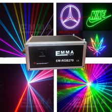 5W rgb full color animation laser show with ilda+sd card+40kpps scanning system at low price