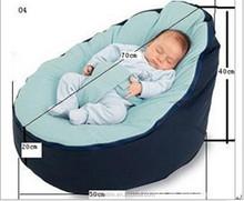 Cheap Baby Bean Bag Children Sofa Chair Cover Soft Bed ,lasy beanbag chair