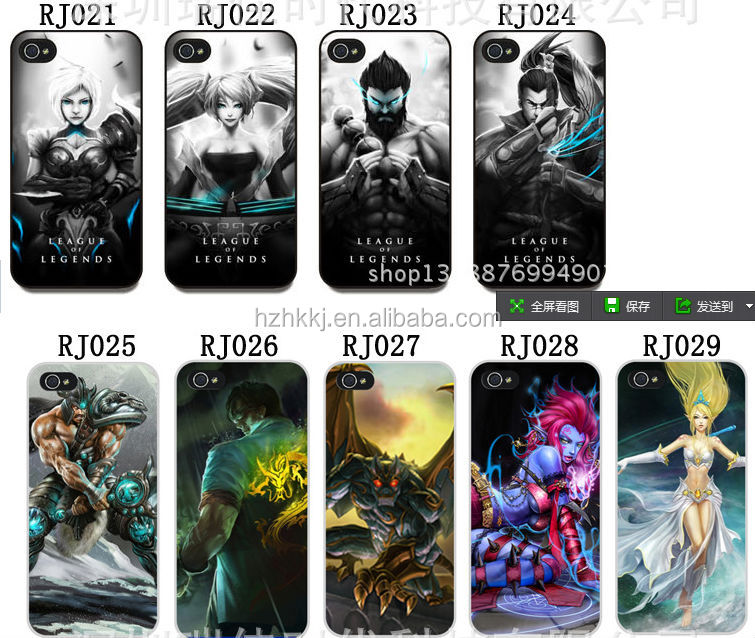 2014 lol funky mobile phone case for iphone 5