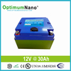 12V 30AH lithium Battery pack for wheelchair golf trolley and with PCM and charger