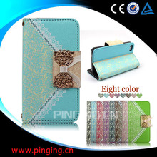 factory price wallet leather case for iphone 6 plus, for iphone 6 plus case, for iphone case