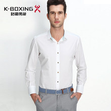 K-BOXING brand new shpring white thin shirt, top Chinese brand shirts
