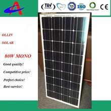 Hot sale 100W mono panel solar in stock