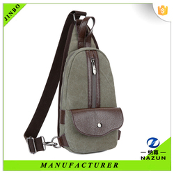 Autumn and winter warm travel men fashion fabric chest bag