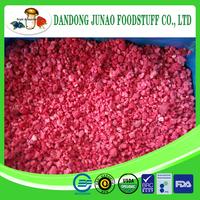 Frozen raspberry crumble ,B grade, broken,puree