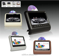 Wholesale back seat tv for car 9 inch car headrest dvd player with wireless game