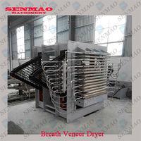 plywood core veneer dryer/hot press type wood veneer/core drying machine for plywood
