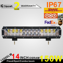 Most demanded products 4D Led Bar Light 30W 120W 150W Led light bar 4D Lamp Bar