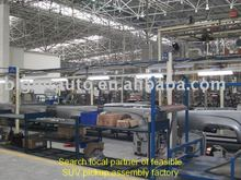 Double Cabin 4x4 drive diesel Pickup/SUV Assembly Line