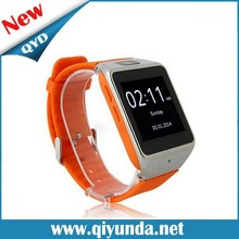 QYD Wrist Wrap Handsfree sim card smart watch GV08 smart watch phone with camera bluetooth Work for windows phone Android