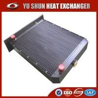 manufacturer of OEM aluminum plate bar hydraulic oil cooler for excavator