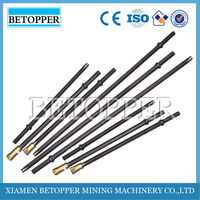 in 6/7/11/12 taper degree tapered drill rods drilling tools hex22