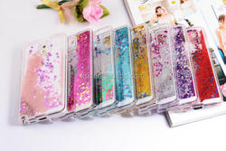 Dynamic Water Liquid Glitter Sand Quicksand Star Case For Samsung Galaxy Note 3 N9000 Clear Hard Plastic Cover Phone Cases