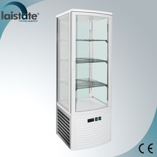 Four Side Glass Ventilated Upright Display Cabinet